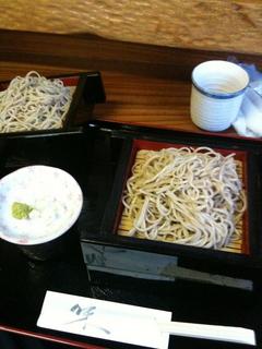 昼御飯蕎麦